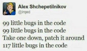 Bugs that someone else will have to fix because you have more pressing matters to attend to.